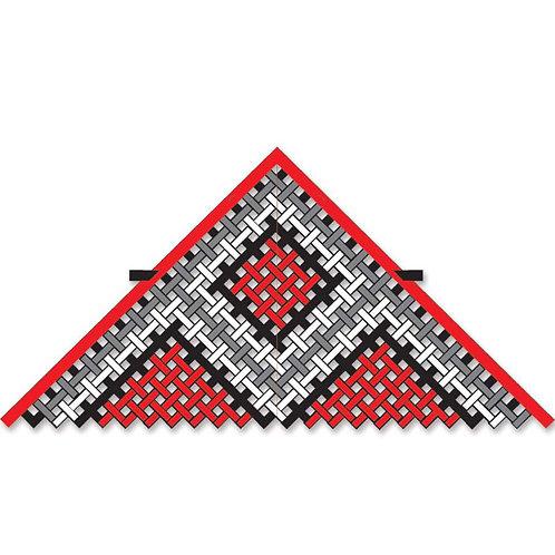 11ft. MESH DELTA - RED/BLACK/WHITE