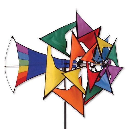 LARGE WINDMILL SPINNER - RAINBOW