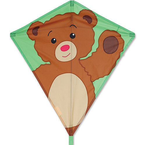 "30"" TEDDY BEAR DIAMOND KITE"