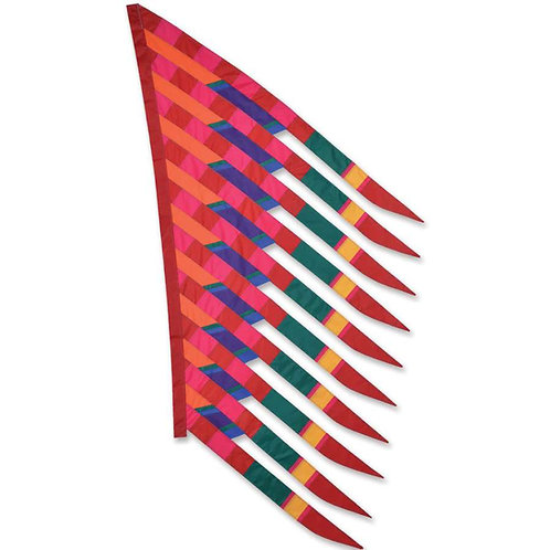 CRIMSON/RED FEATHERSAIL BANNER by SOUNDWINDS