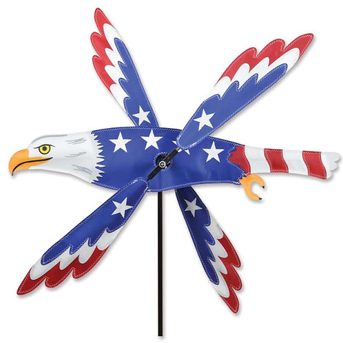 18in PATRIOTIC EAGLE WHIRLIGIG SPINNER