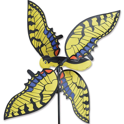 21in SWALLOTWAIL BUTTERFLY WHIRLIGIG SPINNER