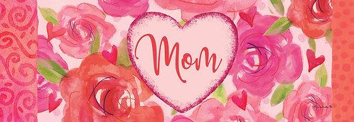 MOM HEART SIGNATURE SIGN