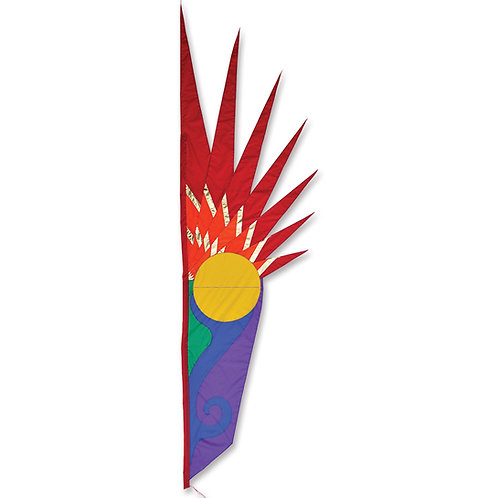 SOLSTICE FEATHER BANNER by SOUNDWINDS