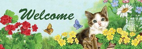 GARDEN CAT SIGNATURE SIGN