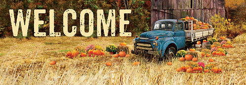 PUMPKIN TRUCK SIGNATURE SIGN