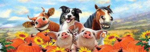FALL FARM ANIMALS SIGNATURE SIGN