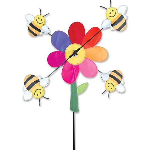 13in BUMBLE BEES WHIRLIGIG SPINNER