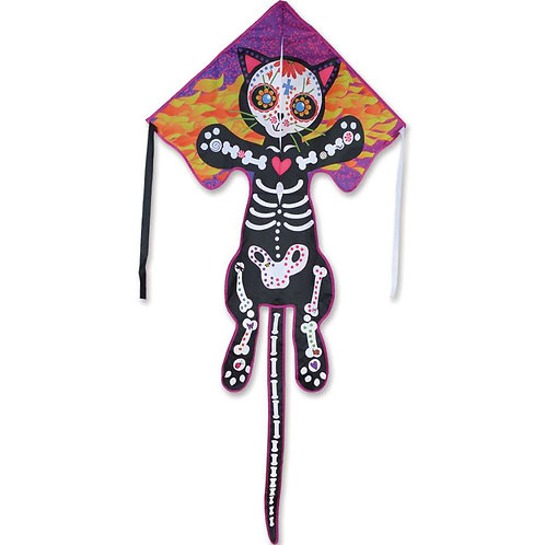 DAY OF THE DEAD / CAT LARGE EASY FLYER KITE