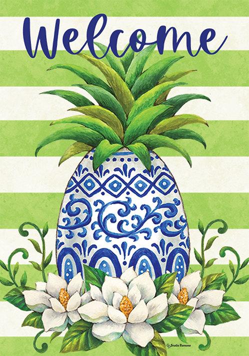 PINEAPPLE MAGNOLIA LARGE FLAG