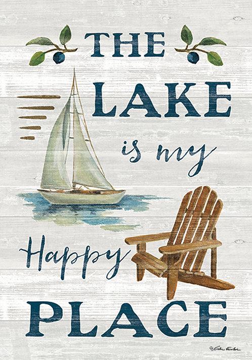 LAKE HAPPY PLACE FLAG