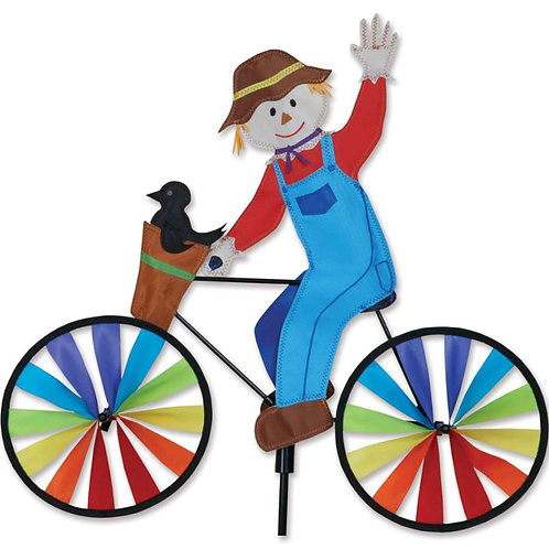 20in SCARECROW BICYCLE SPINNER