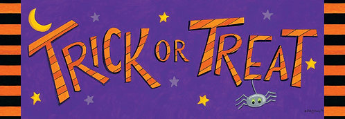 TRICK OR TREATERS SIGNATURE SIGN