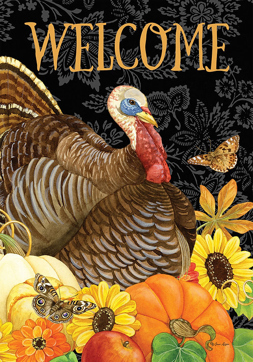 WELCOME TURKEY LARGE DOUBLE SIDED FLAG