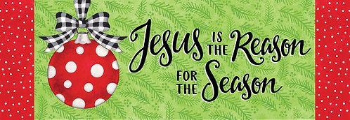 JESUS ORNAMENT SIGNATURE SIGN