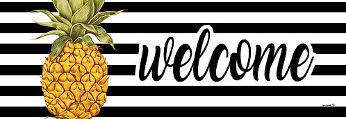 WELCOME PINEAPPLE SIGNATURE SIGN