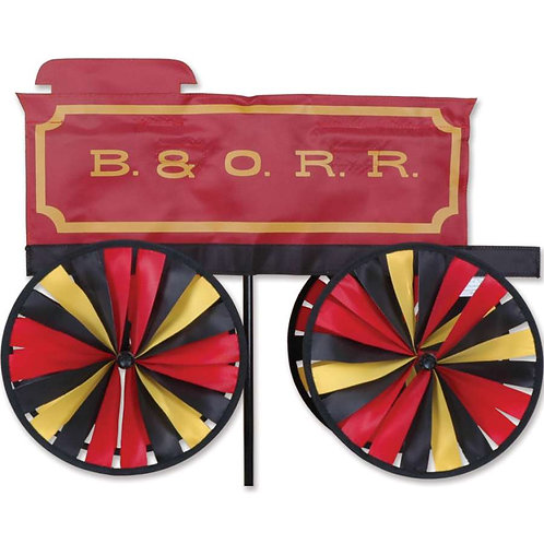 20in B&O RAILROAD TENDER SPINNER