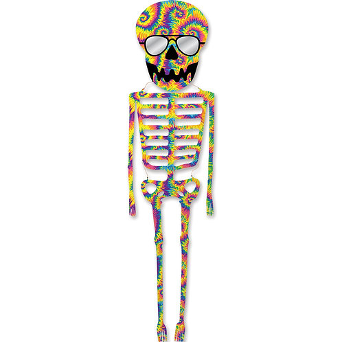 21ft. TIE DYE DANCING SKELETON KITE