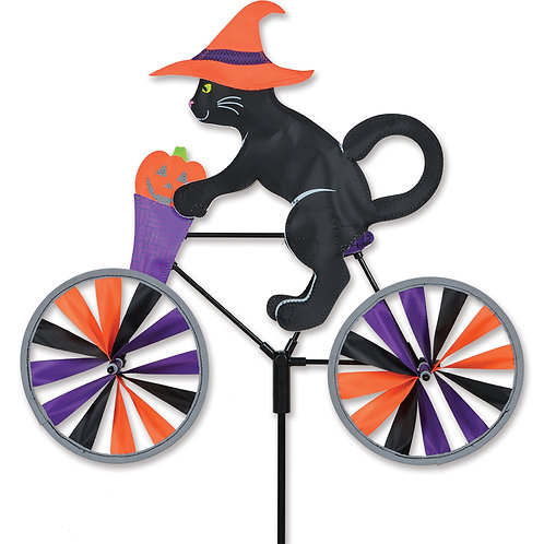 20in HALLOWEEN CAT BICYCLE SPINNER