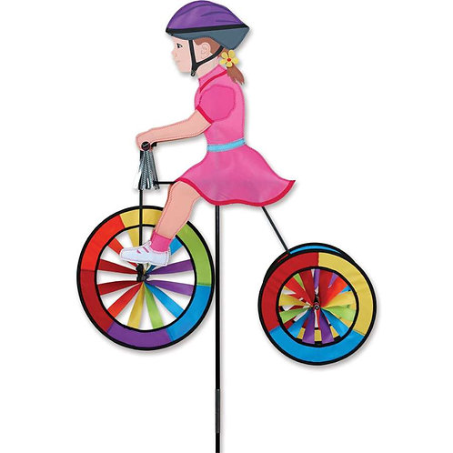 25in GIRL TRICYCLE SPINNER
