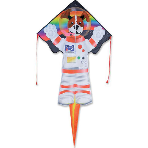 DOG SIDE OF THE MOON LARGE EASY FLYER KITE
