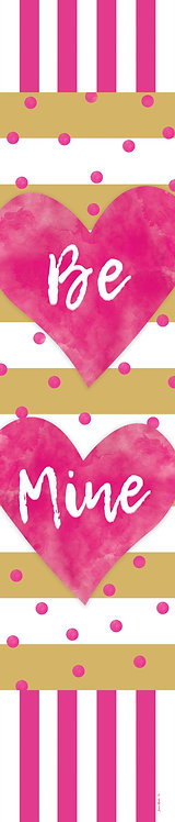 PINK & GOLD HEART YARD EXPRESSION