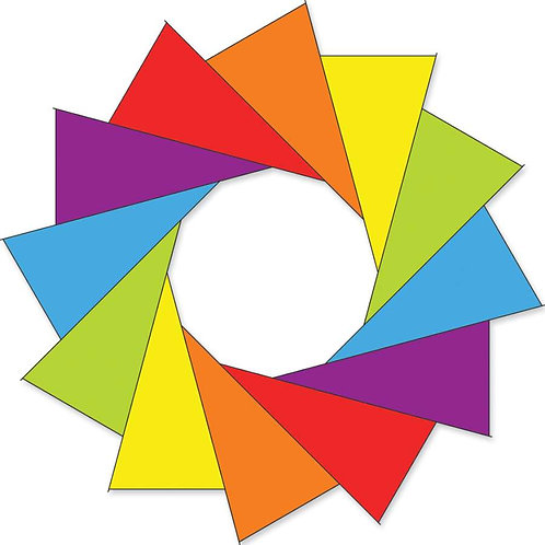 80in F-STOP SPINNER - RAINBOW