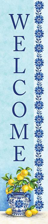 BLUE WILLOW & LEMONS YARD EXPRESSION