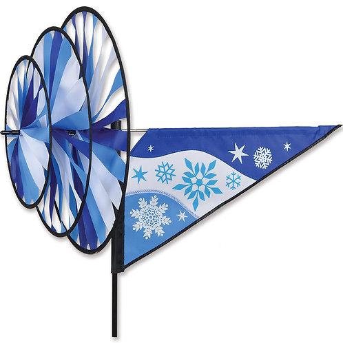 TRIPLE SPINNER - SNOWFLAKE