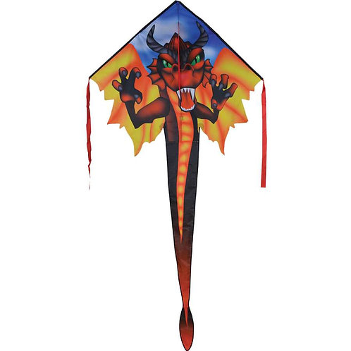 RED DRAGON LARGE EASY FLYER KITE