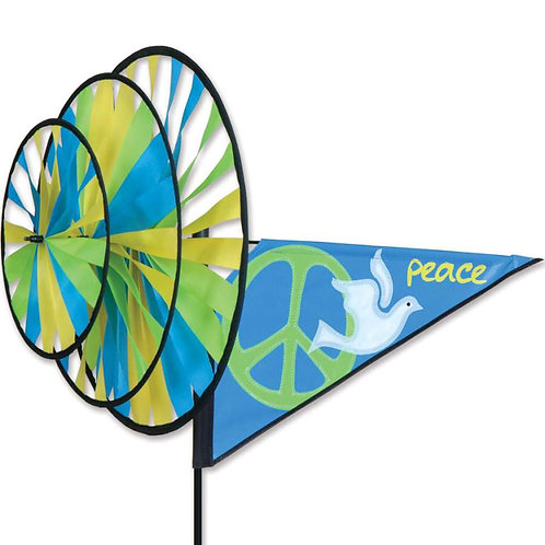 PEACE TRIPLE SPINNER