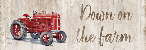 DOWN ON THE FARM SIGNATURE SIGN