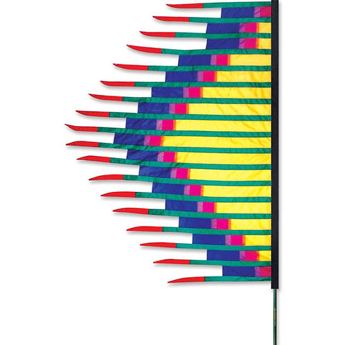 YELLOW GRASS DANCE FEATHER BANNER by SOUNDWINDS