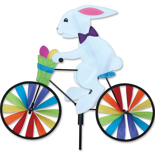 20in EASTER BUNNY BICYCLE SPINNER