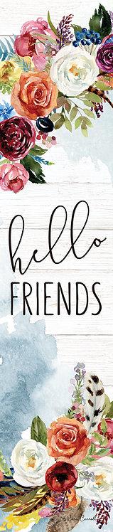 HELLO FRIENDS YARD EXPRESSION