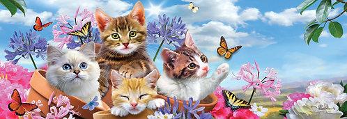 KITTENS & FLOWERS SIGNATURE SIGN