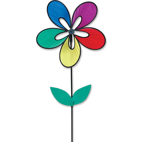 RAINBOW WHIRLY WING FLOWER SPINNER