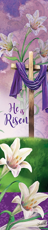HE IS RISEN YARD EXPRESSION