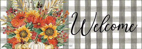 AUTUMN ARRANGEMENT SIGNATURE SIGN