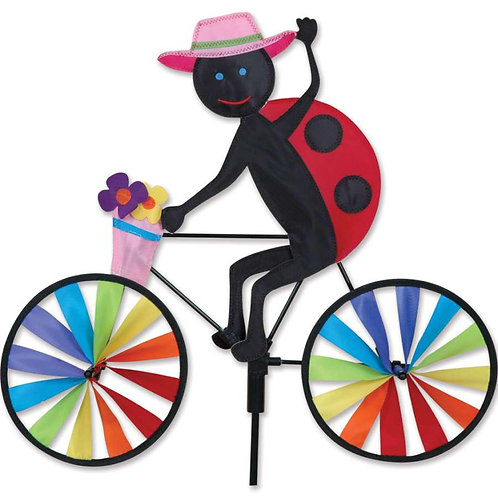 20in LADYBUG BICYCLE SPINNER