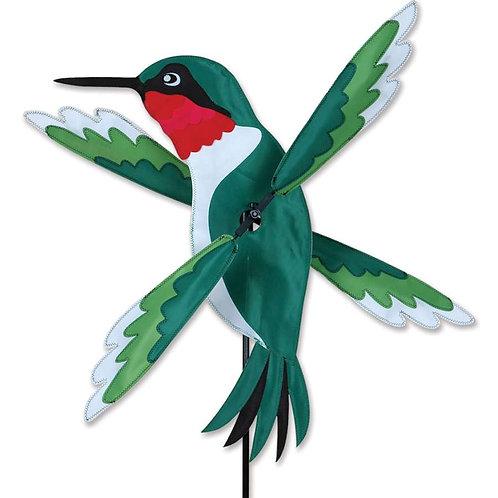 22in HUMMINGBIRD WHIRLIGIG SPINNER