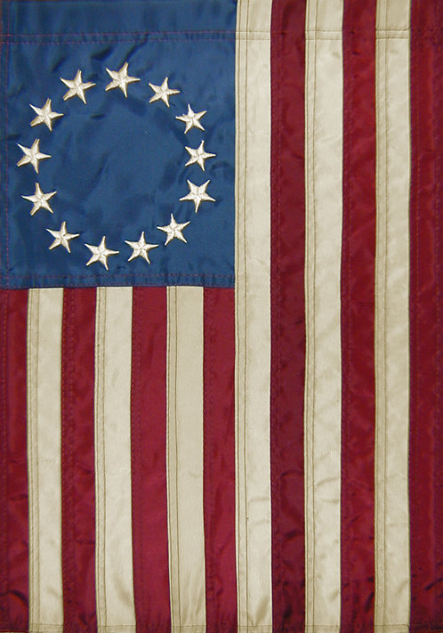 BETSY ROSS APPLIQUE' FLAG