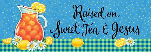 SWEET TEA & JESUS SIGNATURE SIGN
