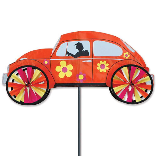 22in ORANGE HIPPIE VW BEETLE SPINNER