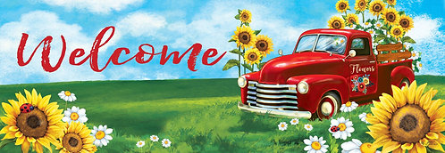 SUNFLOWER TRUCK SIGNATURE SIGN