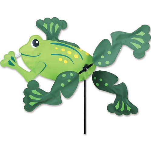 13in FROG WHIRLIGIG SPINNER