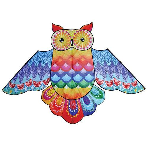 86in RAINBOW OWL KITE