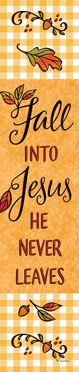 FALL INTO JESUS YARD EXPRESSION