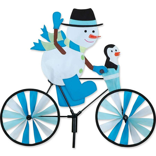 20in SNOWMAN BICYCLE SPINNER