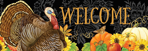 WELCOME TURKEY SIGNATURE SIGN